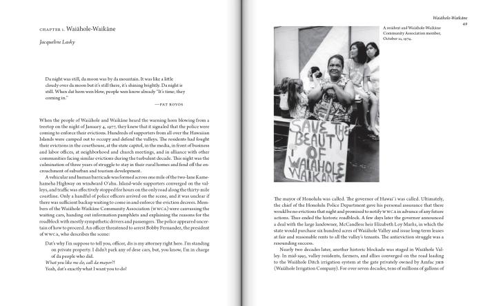 A Nation Rising: Hawaiian Movements for Life, Land, and Sovereignty, edited by Neolani Goodyear-Ka'opua, Ikaika Hussey, and Erin Kahunawaika'ala Wright