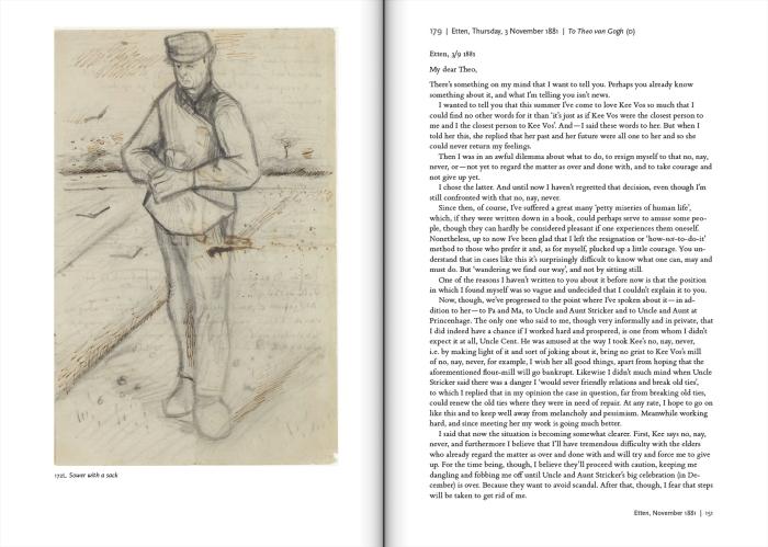 Ever Yours: The Essential Letters by Vincent Van Gogh, edited by Leo Jansen, Hans Luijten, and Nienke Bakker
