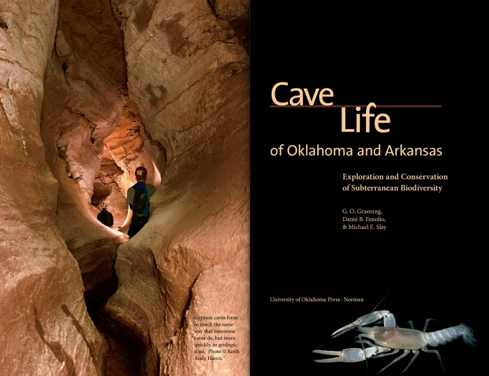 Cave Life of Oklahoma and Arkansas: Exploration and Conservation of Subterranean Biodiversity by G.O. Graening, Dante B. Fenolio, and Michael E. Slay