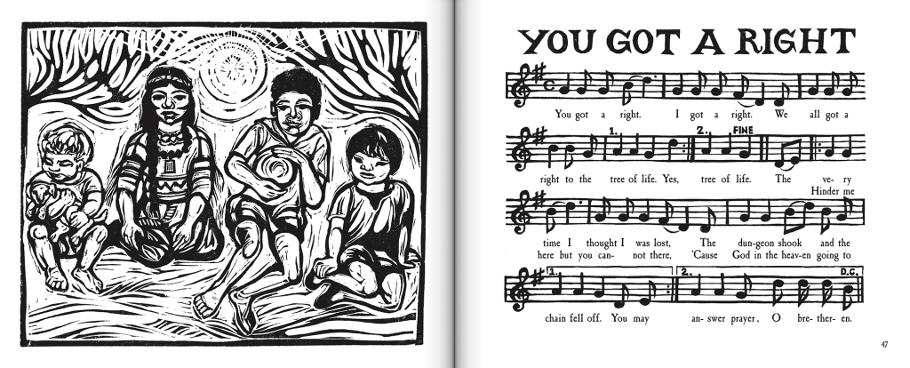 I'm Going to Sing: Black American Spirituals, Volume Two, selected and illustrated by Ashley Bryan
