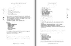 Whole Plants Cookbook, based on the research of T. Colin Campbell